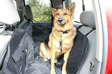 New listing Pet Tricks Luxury Waterproof Dog Car Seat Cover Quilted Hammock Style w Pockets