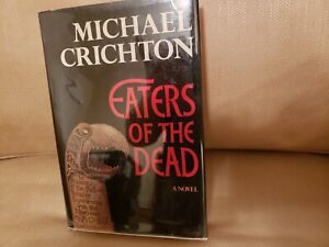 Eaters of the Dead- Michael Crichton 1st Edition Hardcover w/ Jacket  CR-1976
