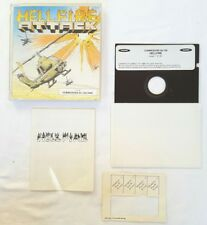 Hell fire attack helicopter sim 1988 Commodore C64 computer video game
