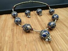 Afghan-Tribal-Necklace-Beautiful-Handmade-Kuchi-Boho-Vintage-Style-Necklace Gift