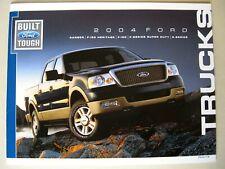 Prospekt Ford Ranger F-150 & Heritage F-Series Super Duty E- 2004 brochure USA