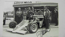 ORIGINAL GOODYEAR PRESS PHOTO : STEFAN JOHANSSON / SPIRIT HONDA F1 - SIGNED !