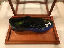 *TORREY SMITH*  NFL Auto CLEAT BALTIMORE RAVENS  JSA COA