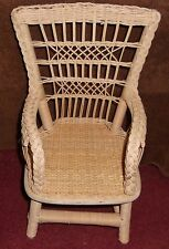 AMERICAN GIRL SAMANTHA WICKER CHAIR EXCELLENT CONDITION NELLIE REBECCA KIT