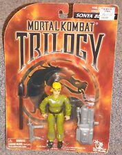 1996 Mortal Kombat Trilogy Sonya Blade Figure New In The Package