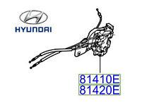 Genuine Hyundai Santa Fe Rear Left Door Latch Central Locking - 814102B010