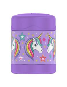 Thermos Unicorn 10oz FUNtainer Food Jar Insulated Lavender/Purple