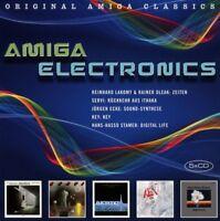 AMIGA ELECTRONICS  5 CD NEU