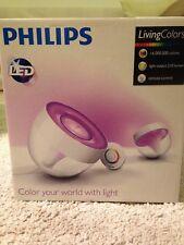 Philips LivingColors Iris Clear DEL Lampe de table Variateur Lampe bien-être