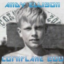 ANDY ELLISON CORNFLAKE Z00 CD NEW SOLO SINGLES DEMOS AND UNRELEASED RARITIES