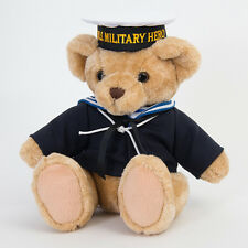 Teddy Bear Army Navy Sailor Marine M Plush Jointed Uniformed NEW
