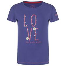 Regatta Bobbles Kids T-Shirt Girls Boys Multi Colours