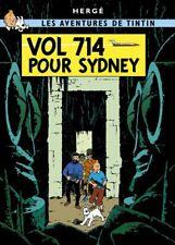Affiche Offset Tintin Vol 714 pour Sydney