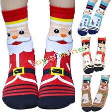 Hot Creative Women Winter Socks Christmas Gift Cotton Sock Cute Santa Claus Deer