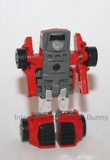 1985 Brazil Estrela Hasbro Red Windcharger Mini Cars 100% Complete Transformer