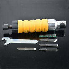 Hammer Chuck Attachment With 5 Carving Chisels For Rotary Tool Flexible Shaft