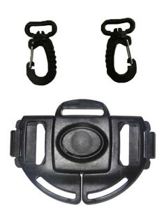 For UPPAbaby Vista Baby Stroller Waist Harness Buckle & Clip Replacement Part