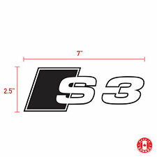 2X AUDI S3 sticker vinyl car decal