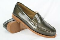 GH Bass Weejuns Women's Whitney Penny Loafers Size 6m Patent Metallic Bronze