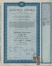 1964 * AURUNCA LITORA * LA STORIA DELLA BAIA DOMIZIA * POCHI PEZZI ANCORA  * DOC
