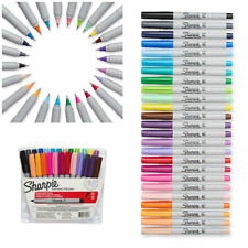Fine Point Permanent Markers Set Sharpie Assorted Colors Art Pen 24 PACK