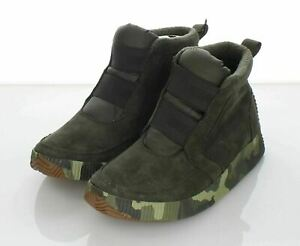 05-44 NEW $125 Women's Sz 6.5 M Sorel Out N About Plus Mid Suede Slip On Bootie