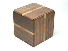 Traditional Japanese Hakone Yosegi Wooden Secret Puzzle Box 6 Steps from Japan