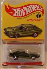 2016 Hot Wheels HWC/RLC Neo-Classics '72 Ford Gran Torino Sport GREEN Only 5000