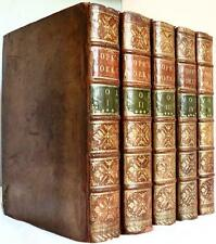 SCARCE 1769 THE WORKS OF ALEXANDER POPE COMPLETE HOMER BEAUTIFUL FOLIO BINDINGS