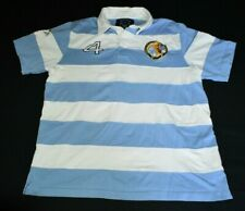 Kevingston Rugby Polo Argentina Rugby Union Team 1989 Unlimited Polo Shirt Men M