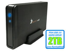 HornetTek Viper 2TB USB 3.0 External PS4 Hard Drive for PS4, PS4 Slim, PS4