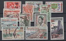 WEST CAMEROON STAMPS, 1961, Mi.  13 - 24 II **