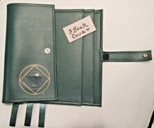 Narcotics Anonymous NA Basic Text How and Why GREEN Deluxe 3  Book  Tri Cover