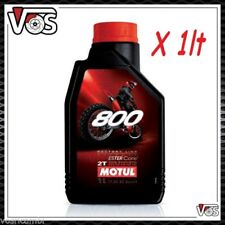 Olio Motore Moto Motul 800 2T Off Road Factory Line 100% Sintetico 1 litro 1lt