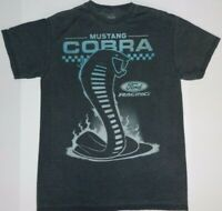 Ford Carroll Shelby Mustang Cobra Snake Attack Ford Racing Adult T-Shirt Sport