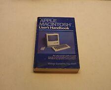 RARE Apple Macintosh 128 User's Handbook