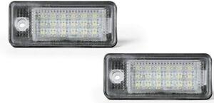 Led Kennzeichenbeleuchtung Audi A3 8P - A4 B6 + B7 - A6 4F - Q7  *5050