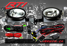 06-08 Honda Civic 2 door JDM Clear Fog Light + Harness Kit EX DX LX SI Coupe FA