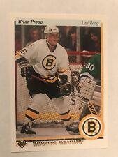 1990-91 Upper Deck #2 - Brian Propp - Boston Bruins