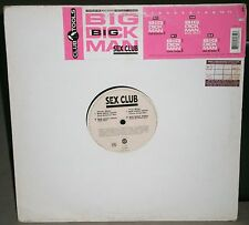 "SEX CLUB - BIG DICK MAN - 1994 - CLU 6085 0 CLUB TOOLS RECORDS 12"" VINYL SINGLE"