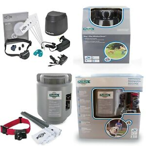 PETSAFE  WIRELESS DOG CONTAINMENT SYSTEMS (Unseen fencing) Easy to setup