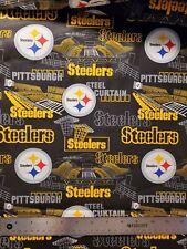 NFL PITTSBURGH STEELERS - STADIUM 100% Cotton Fabric 1/4 yd, 9