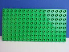 DUPLO lego LIGHT GREEN BASE BOARD 8x16 stud plate FARM HOUSE CASTLE building