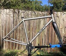 Merlin Titanium Sandstone gravel bike Frameset enve
