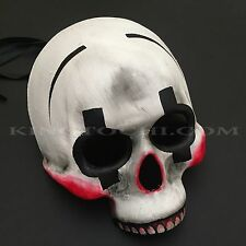 Day of the Dead Skull Half Face Halloween Masquerade Scary Mask
