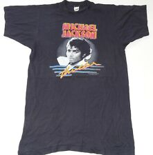 eVintage (L(M) SCREEN STARS MICHAEL JACKSON THRILLER POP TRU VINTAGE T-SHIRT