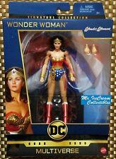 DC Comics Multiverse Signature Collection Lynda Carter Wonder Woman 1970's TV