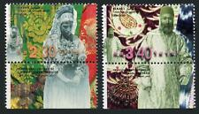 Israel: 1999 Traditional Ethnic Costumes (1373-1374) With Tabs MNH