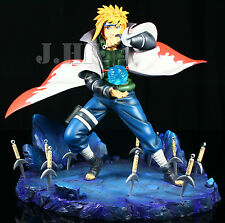 RARE Naruto PRE-PAINTED HUGE Minato Namikazi Figure Garage Kit Tsume LIMITED