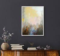Landschaft abstrakt Bilder original Gemälde Acryl Malerei Kunst Lynovskaja